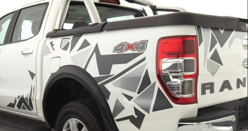 Ford Ranger 2.2L XLT Special Edition decals