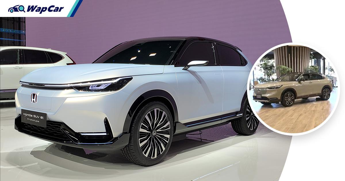 Honda SUV e:prototype is an electric HR-V that would be launched in 2022 01