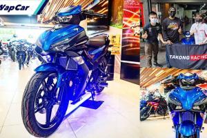 Yamaha Y16ZR 2021 sudah diedar, Bob Yp jadi pemilik unit pertama!