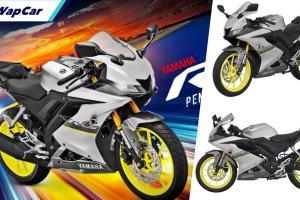 Warna baharu untuk Yamaha YZF-R15 2021 di pasaran tempatan, Silver, harga kekal RM 11,988!