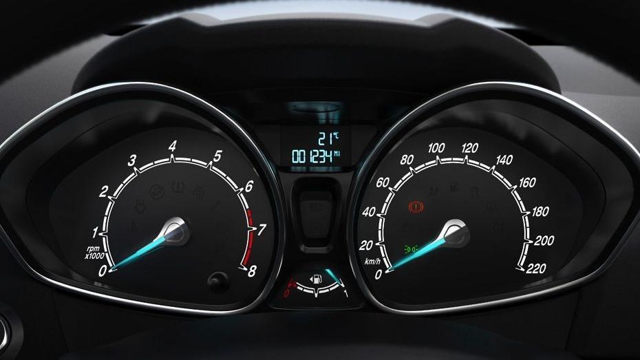 Ford Fiesta (2017) Interior 003