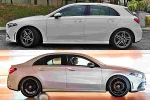 Mercedes-Benz A-Class Hatch vs A-Class Sedan; what's different other than looks?