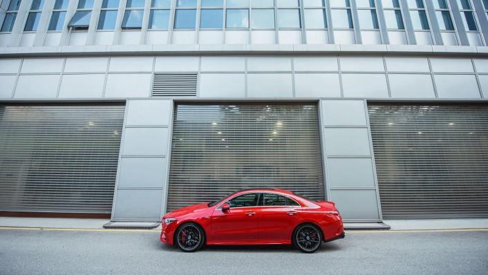 2020 Mercedes-Benz AMG CLA 45 S Exterior 006