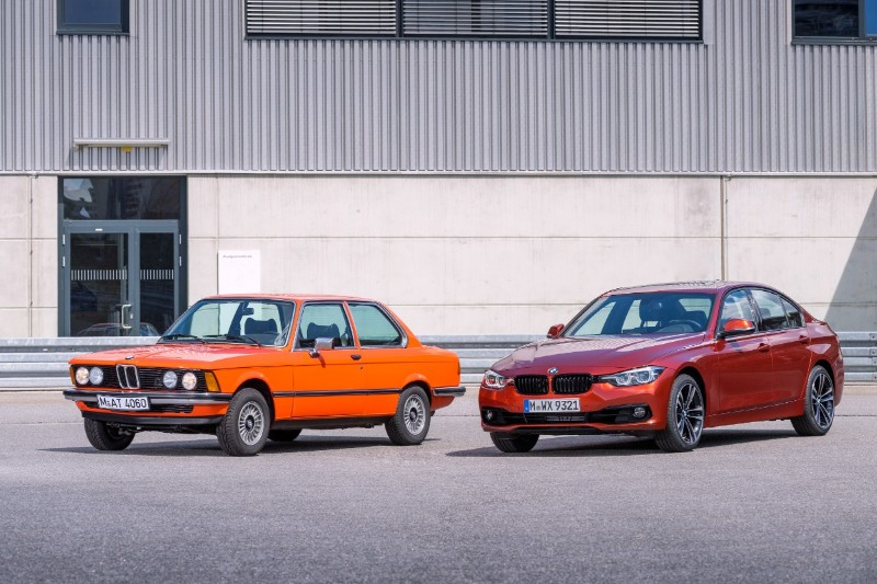 BMW 3 Series legacy and new model