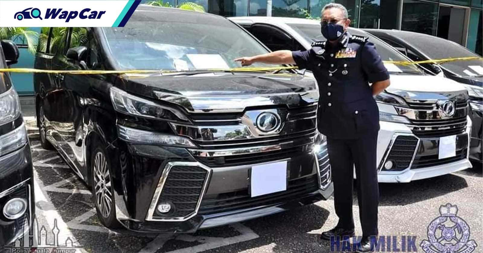PDRM busts clone car syndicates involving used car dealer and insurance companies 01