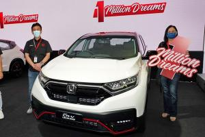 They shopped, they clicked, they won – 4 lucky winners received free Honda cars