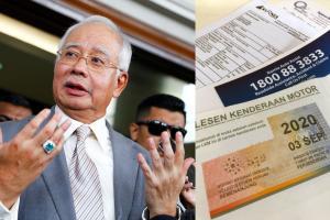 Pantau harga insurans kereta, gesa Najib Razak kepada Bank Negara dan Suruhanjaya Persaingan