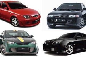 6 model ikonik dari divisyen prestasi Proton, Race Rally Research (R3)