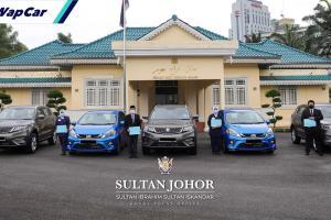 Sultan Johor kurnia Proton X70, Perodua Myvi kepada frontliners HSA