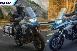 Benelli TRK502 2021 tiba di Thailand, 4 warna, harga RM 30,225!