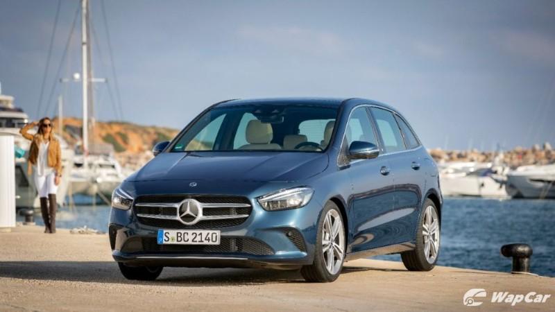 2020 Mercedes-Benz B-Class front