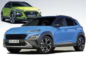 New facelifted Hyundai Kona vs pre-facelift, what's the difference?
