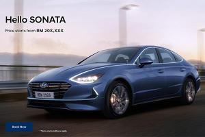 All-new 2020 Hyundai Sonata open for booking, starts from RM 20x,xxx