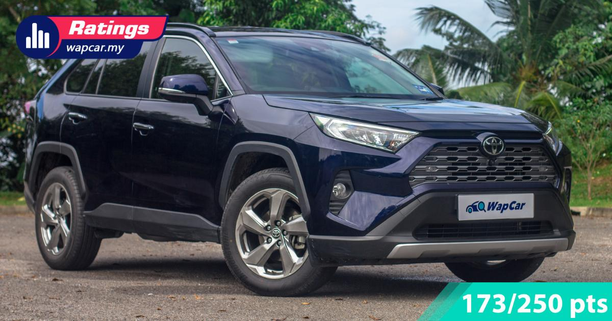 Ratings: Toyota RAV4 2.5 in Malaysia - Class-leading features come at a cost 01