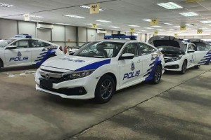 The Toyota Corolla Altis is not alone, PDRM also made orders for Honda Civic FC