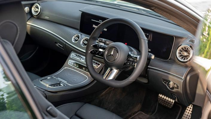 2021 Mercedes-Benz E-Class Coupe E300 AMG Line Interior 005