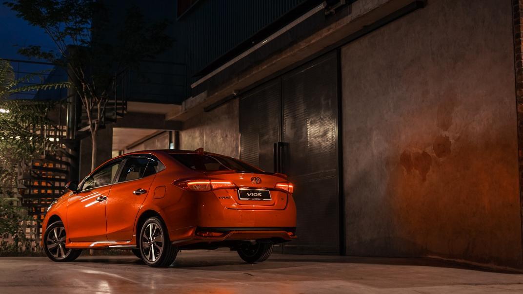 2021 Toyota Vios 1.5E Exterior 006