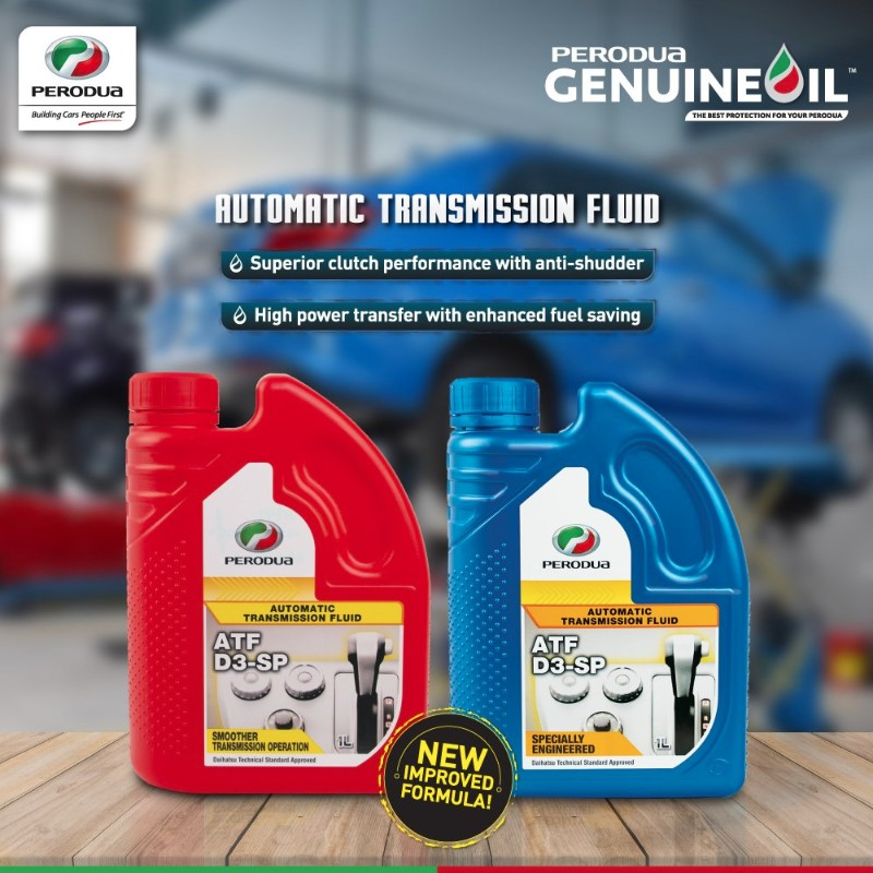 Perodua introduces newly improved D3-SP automatic transmission fluid 02