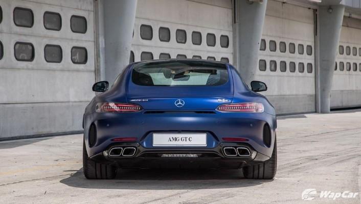 2019 Mercedes-Benz AMG GT C Exterior 006