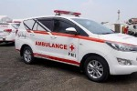 Here to save lives, this is the Toyota Innova ambulance