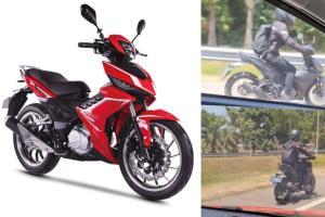 Spyshot: Satu lagi 'Super moped' sedang diuji di Malaysia, buatan China?
