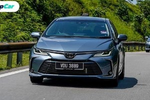 Toyota Corolla Altis baharu 2020 di Malaysia. Kini dengan Android Auto dan Apple Car Play.