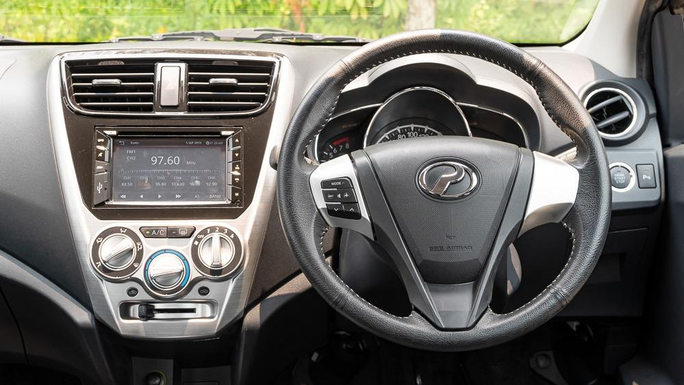 2018 Perodua Axia Advance 1.0 AT Interior 002