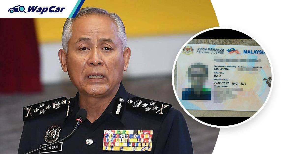 IGP: Proposal to limit issuance of driver's licence to senior citizens yet to be discussed 01