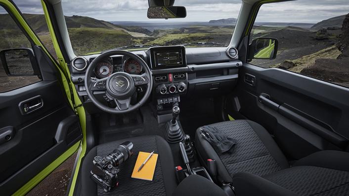 2021 Suzuki Jimny Interior 001