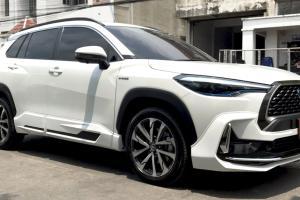 Gaya Toyota Corolla Cross nampak biasa je? Masuklah kit badan Tithum, baru nampak garang!