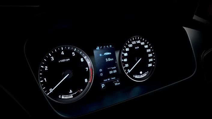 Hyundai Sonata (2017) Interior 010
