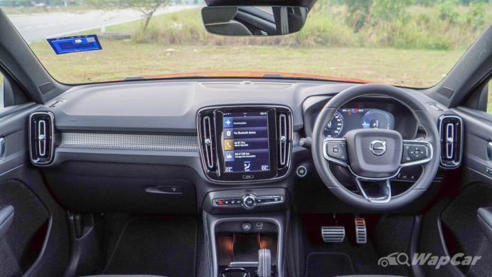 2021 Volvo XC40 Recharge T5 R-Design Interior 001