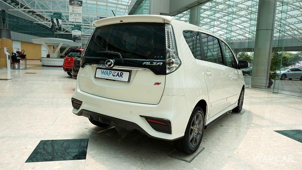 2018 Perodua Alza 1.5 AV AT Exterior 014