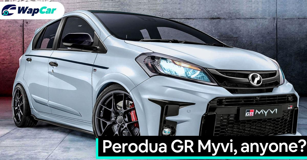 Perodua GR Myvi rendered - Could this be Malaysia's hottest hatchback ever? 01