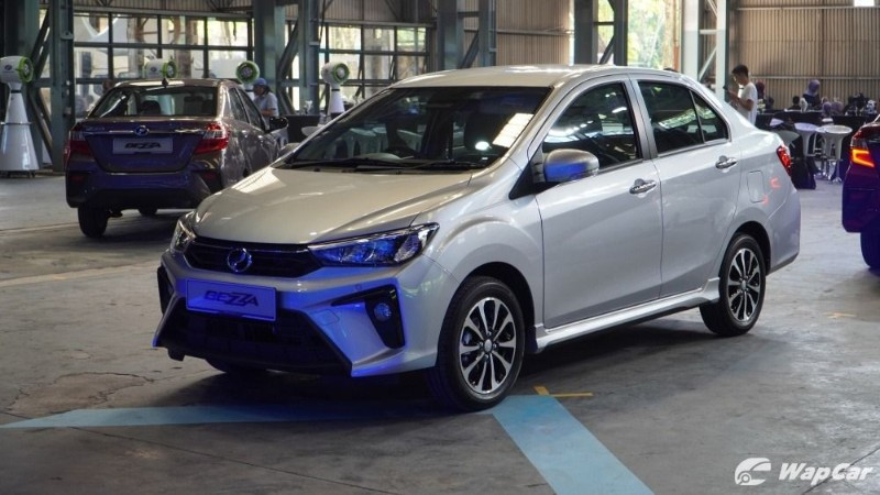 2020 Perodua Bezza facelift