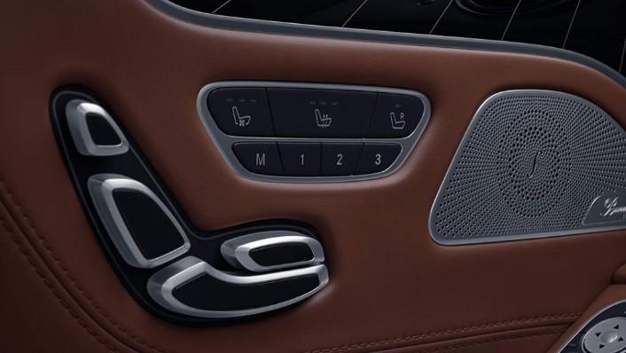 Mercedes-Benz S-Class Cabriolet (2018) Interior 008