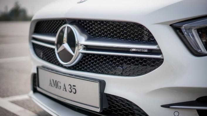 2019 Mercedes-Benz AMG A-Class A35 Exterior 008
