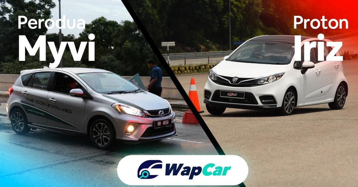 Perodua Myvi vs Proton Iriz comparison