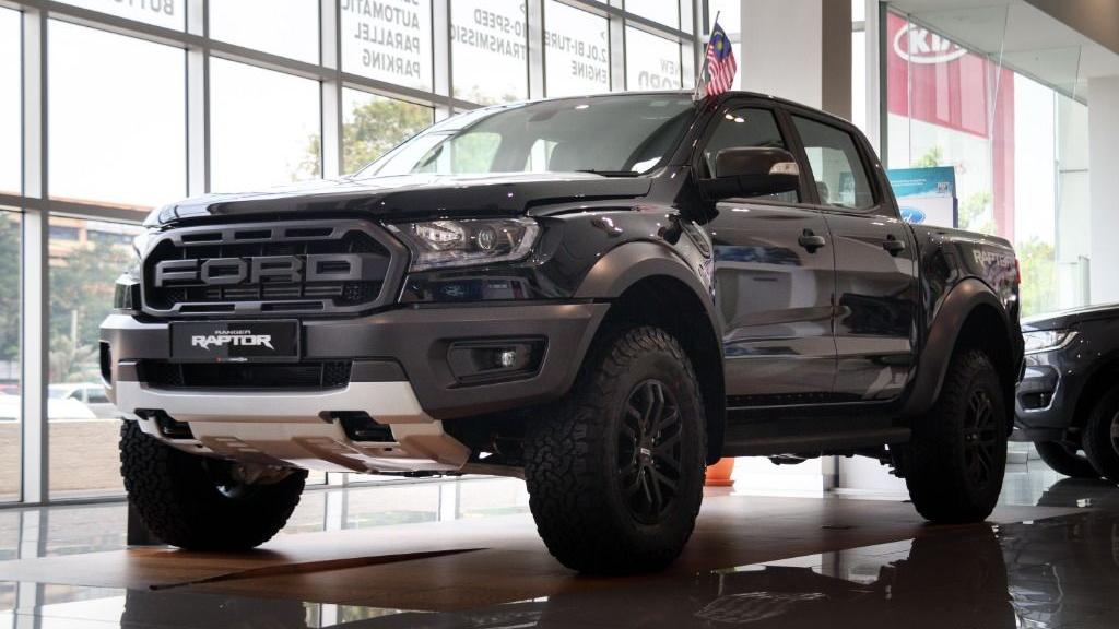 2019 Ford Ranger Raptor 2.0L 4X4 High Rdier Exterior 001