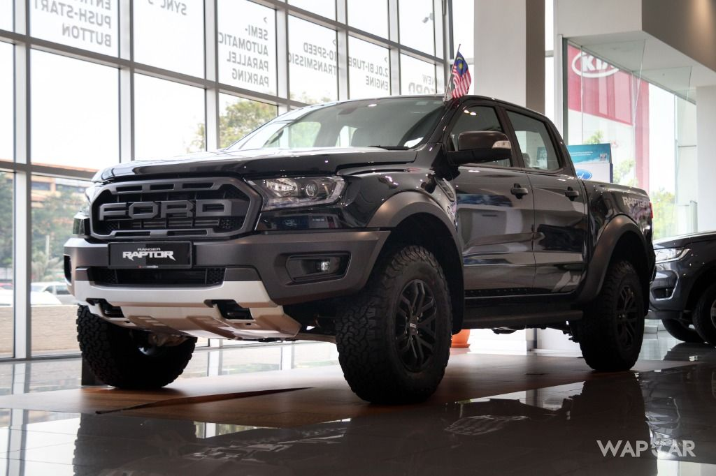 Ford Ranger Raptor CNY promo