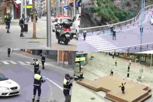 Police in Andorra performs Baby Shark on the streets to show their gratitude