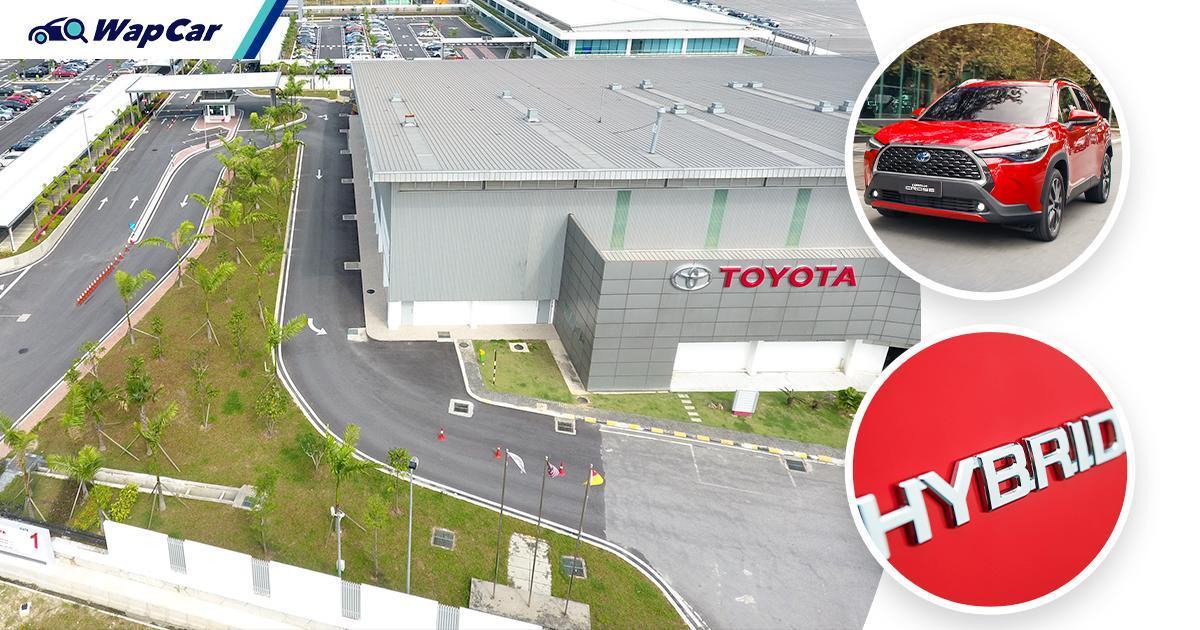 UMWT announces RM 270m investment into CKD hybrids - Corolla Cross Hybrid? 01
