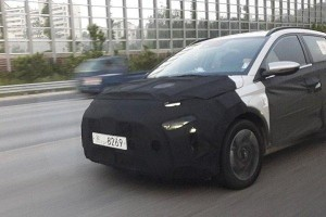 Spied! The Hyundai compact MPV spotted testing on the road