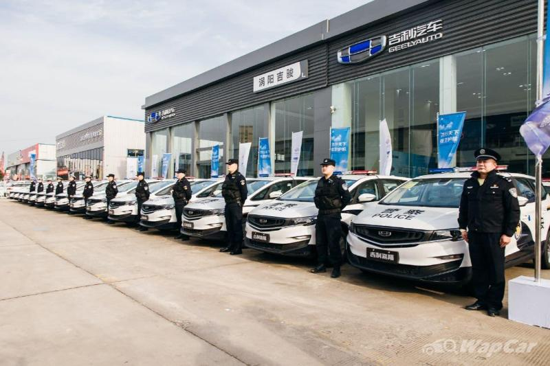 Geely delivers 30 units of the Geely Jiaji to Chinese police department 02