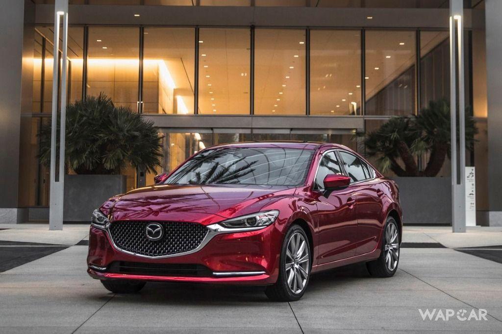 2019 Mazda 6 Front