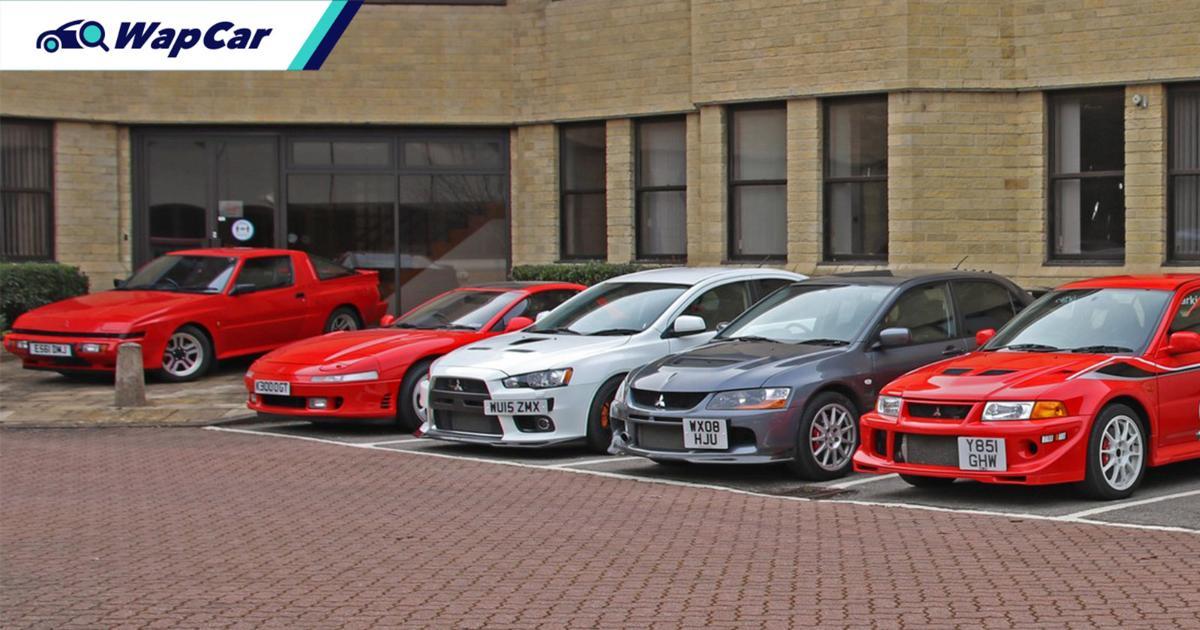 Mitsubishi UK auctioning off 14 heritage models including Evo VI TME, Evo IX MR, and 3000GT 01