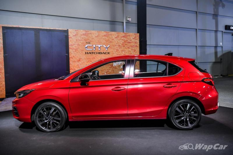 malaysia-bound 2021 honda city hatchback - all your