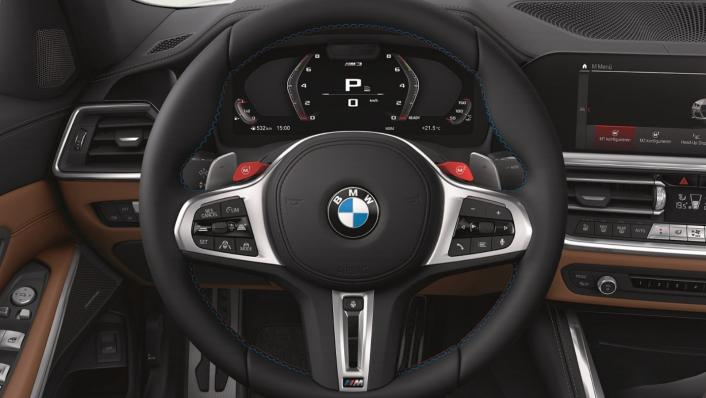 2021 BMW M3 Competition Interior 002