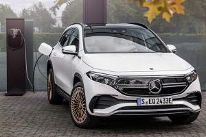 Mercedes-Benz EQA debuts, 420 km range entry-level premium electric car