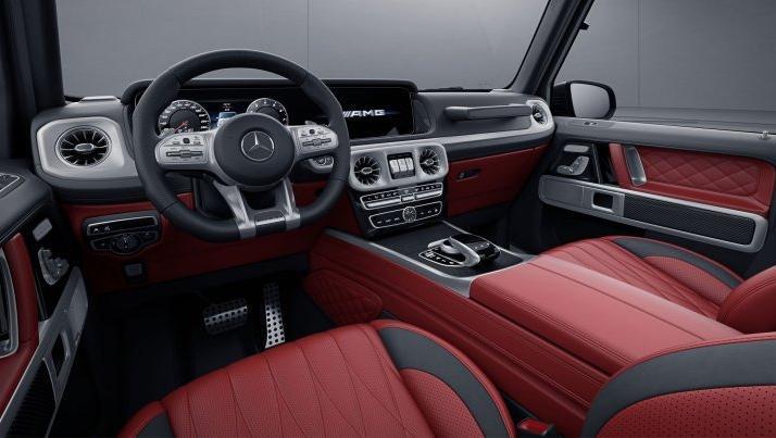 Mercedes-Benz AMG G-Class (2019) Interior 001